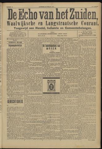 Echo van het Zuiden 1924-02-23