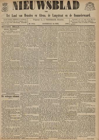 Nieuwsblad het land van Heusden en Altena de Langstraat en de Bommelerwaard 1902-05-24