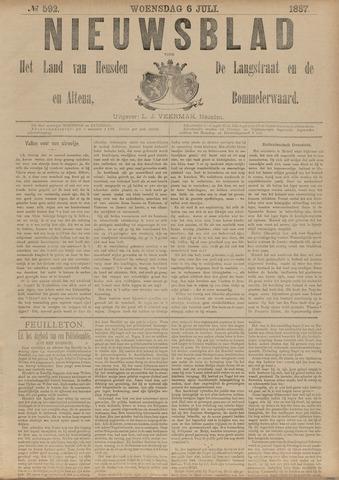Nieuwsblad het land van Heusden en Altena de Langstraat en de Bommelerwaard 1887-07-06
