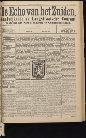Echo van het Zuiden 1932-09-14