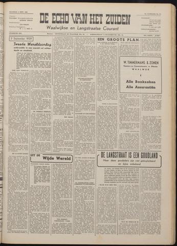 Echo van het Zuiden 1949-09-05