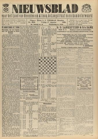 Nieuwsblad het land van Heusden en Altena de Langstraat en de Bommelerwaard 1928-08-17
