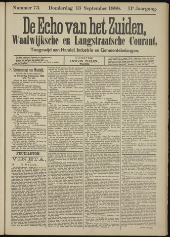 Echo van het Zuiden 1888-09-13