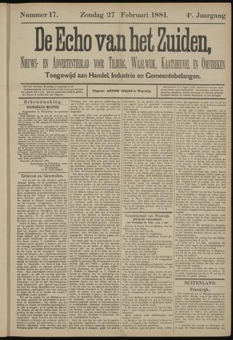 Echo van het Zuiden 1881-02-27