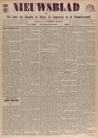 Nieuwsblad het land van Heusden en Altena de Langstraat en de Bommelerwaard 1908-12-09