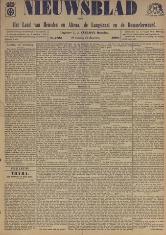 Nieuwsblad het land van Heusden en Altena de Langstraat en de Bommelerwaard 1908-01-15