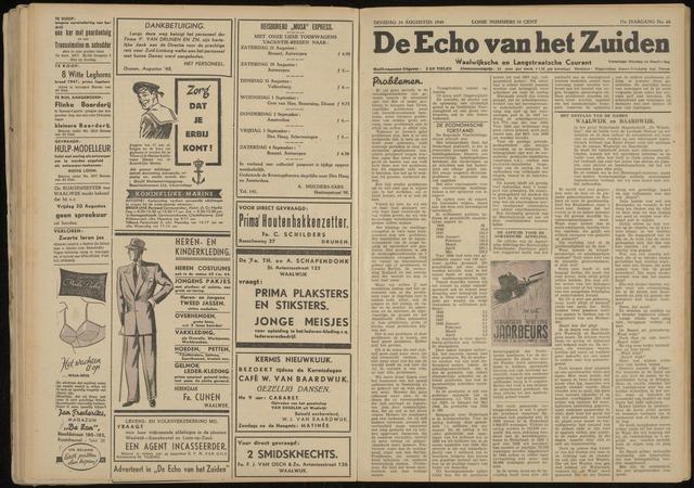 Echo van het Zuiden 1948-08-24