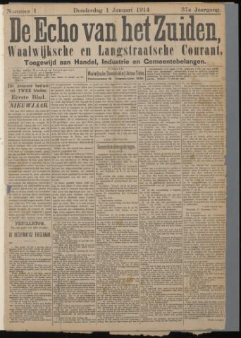 Echo van het Zuiden 1914-01-01