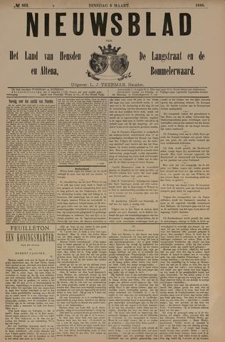 Nieuwsblad het land van Heusden en Altena de Langstraat en de Bommelerwaard 1888-03-06