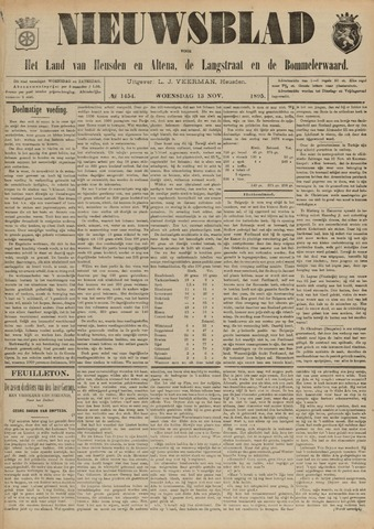 Nieuwsblad het land van Heusden en Altena de Langstraat en de Bommelerwaard 1895-11-13