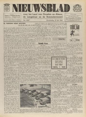 Nieuwsblad het land van Heusden en Altena de Langstraat en de Bommelerwaard 1949-07-21