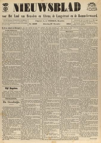 Nieuwsblad het land van Heusden en Altena de Langstraat en de Bommelerwaard 1915-11-27