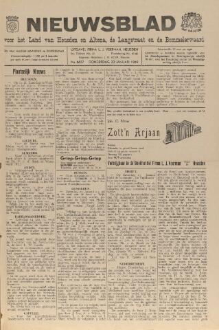 Nieuwsblad het land van Heusden en Altena de Langstraat en de Bommelerwaard 1949-01-20