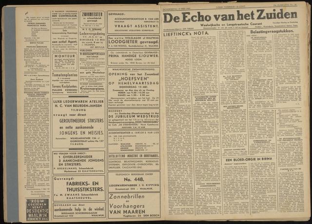 Echo van het Zuiden 1947-05-15