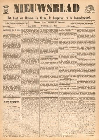 Nieuwsblad het land van Heusden en Altena de Langstraat en de Bommelerwaard 1905-05-24