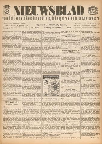 Nieuwsblad het land van Heusden en Altena de Langstraat en de Bommelerwaard 1922-01-25