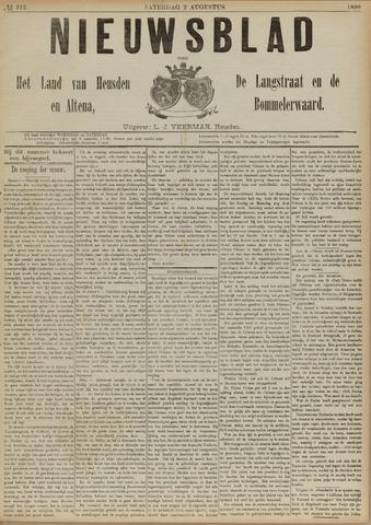 Nieuwsblad het land van Heusden en Altena de Langstraat en de Bommelerwaard 1890-08-02