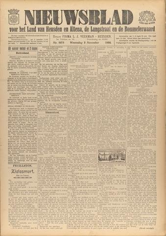 Nieuwsblad het land van Heusden en Altena de Langstraat en de Bommelerwaard 1932-11-02