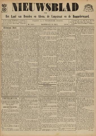 Nieuwsblad het land van Heusden en Altena de Langstraat en de Bommelerwaard 1896-01-11