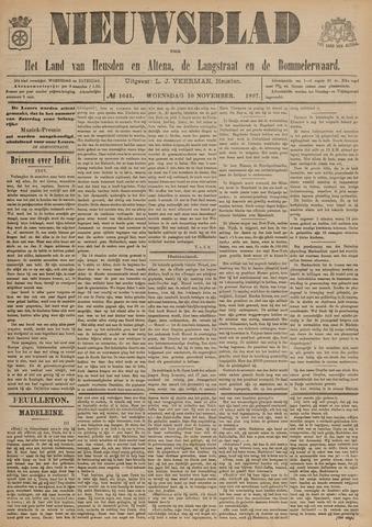 Nieuwsblad het land van Heusden en Altena de Langstraat en de Bommelerwaard 1897-11-10