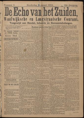 Echo van het Zuiden 1916-01-06