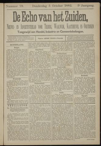 Echo van het Zuiden 1882-10-05