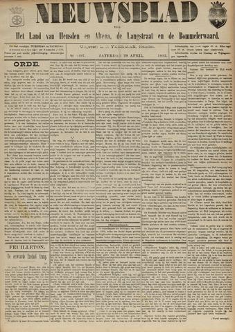 Nieuwsblad het land van Heusden en Altena de Langstraat en de Bommelerwaard 1893-04-29