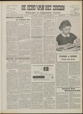 Echo van het Zuiden 1958-02-17