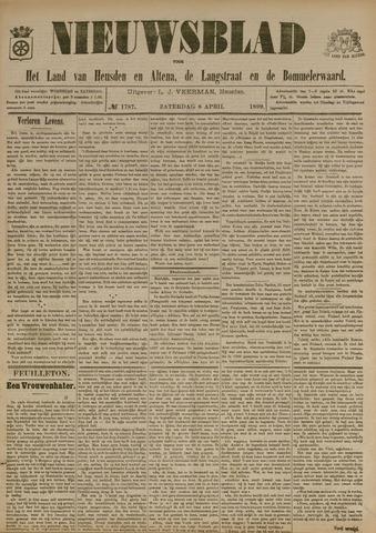 Nieuwsblad het land van Heusden en Altena de Langstraat en de Bommelerwaard 1899-04-08