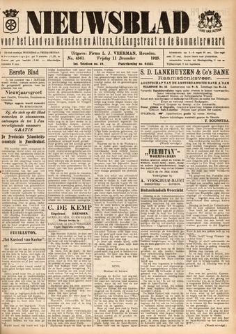 Nieuwsblad het land van Heusden en Altena de Langstraat en de Bommelerwaard 1925-12-11