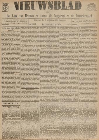 Nieuwsblad het land van Heusden en Altena de Langstraat en de Bommelerwaard 1897-04-17