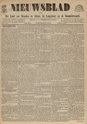 Nieuwsblad het land van Heusden en Altena de Langstraat en de Bommelerwaard 1903-07-29