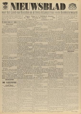 Nieuwsblad het land van Heusden en Altena de Langstraat en de Bommelerwaard 1929-08-28