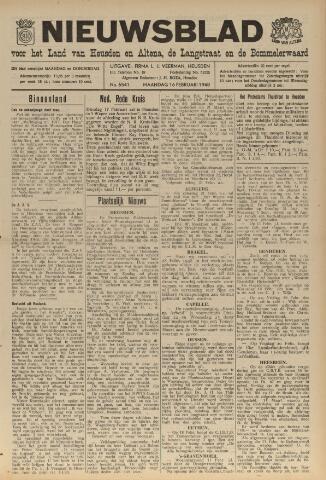 Nieuwsblad het land van Heusden en Altena de Langstraat en de Bommelerwaard 1948-02-16