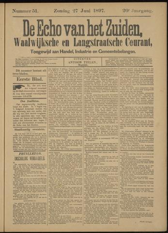 Echo van het Zuiden 1897-06-27