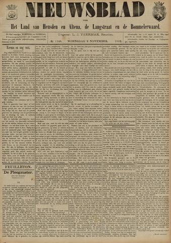 Nieuwsblad het land van Heusden en Altena de Langstraat en de Bommelerwaard 1892-11-09