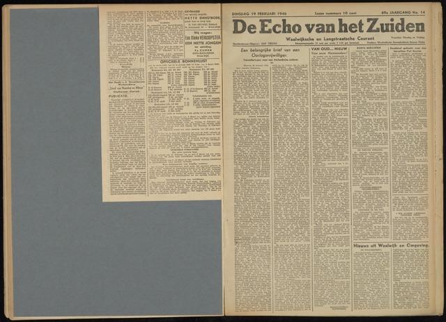 Echo van het Zuiden 1946-02-19
