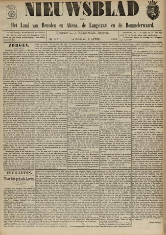 Nieuwsblad het land van Heusden en Altena de Langstraat en de Bommelerwaard 1893-04-08