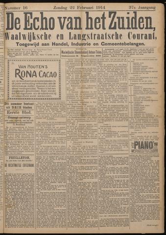 Echo van het Zuiden 1914-02-22