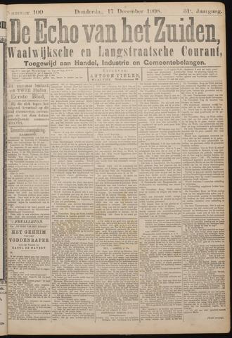 Echo van het Zuiden 1908-12-17