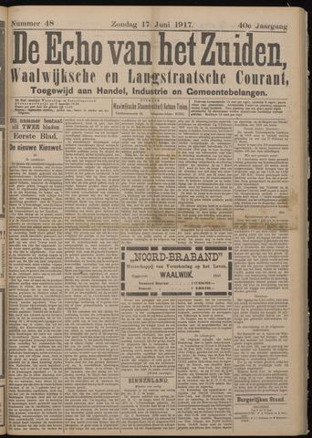 Echo van het Zuiden 1917-06-17