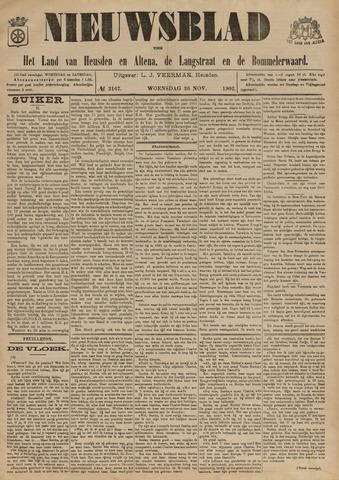 Nieuwsblad het land van Heusden en Altena de Langstraat en de Bommelerwaard 1902-11-26