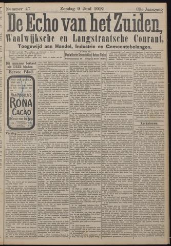 Echo van het Zuiden 1912-06-09