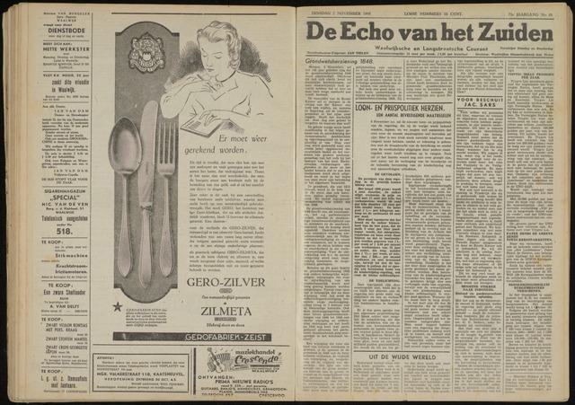 Echo van het Zuiden 1948-11-02