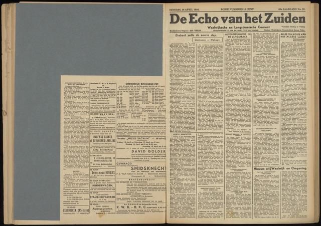 Echo van het Zuiden 1946-04-16