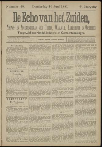 Echo van het Zuiden 1881-06-16