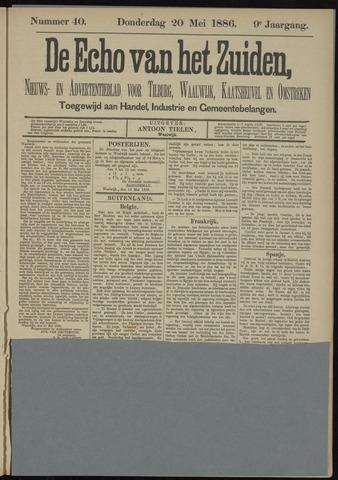 Echo van het Zuiden 1886-05-20