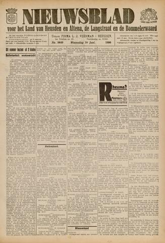 Nieuwsblad het land van Heusden en Altena de Langstraat en de Bommelerwaard 1936-06-10