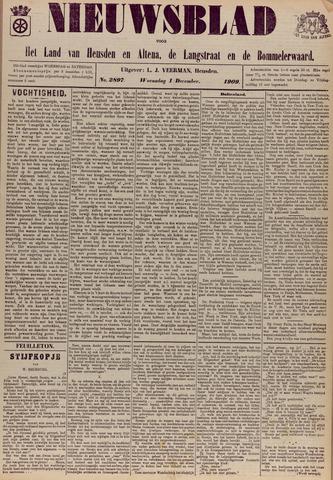 Nieuwsblad het land van Heusden en Altena de Langstraat en de Bommelerwaard 1909-12-01