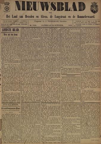 Nieuwsblad het land van Heusden en Altena de Langstraat en de Bommelerwaard 1893-10-14